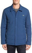 Lacoste Quilted Water Resistant Car Coat
