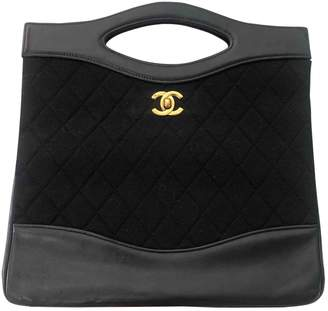 Chanel 31 Vintage Black Cotton Handbags