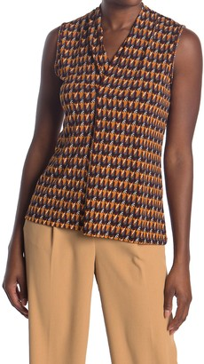 Love by Design Hudson Sleeveless Pleated Top