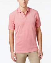 Club Room Men's Dot-Pattern UPF 50+ Performance Polo, Only at Macy's