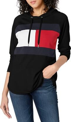 Tommy Hilfiger Women's Hooded Long Sleeve T-Shirt
