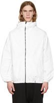 Ueg White Tyvek® Hooded Jacket