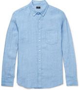 J.Crew Button-down Collar Linen Shirt - Blue