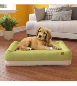 Way Basics Large Pup Pup Kitty Plush Orthopedic Breathable Pet Mat with NoFom Cushion Technology