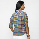 Denim & Supply Ralph Lauren Kona Plaid Cowgirl Shirt