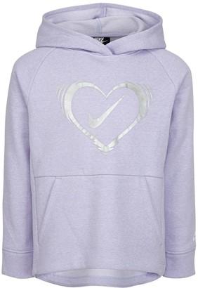 Nike Girls 4-6x Fleece Long Tunic Hoodie