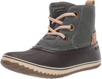 Sperry Women's Schooner 3-Eye Lace Up Wool Boot