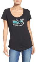 Patagonia Women's Live Simply Organic Cotton Tee