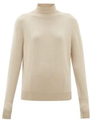 Nili Lotan Ralphie Roll-neck Cashmere Sweater - Womens - Beige