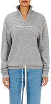 Chloé Women's Cashmere Waist-Tie Sweatshirt-GREY