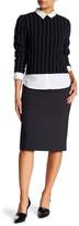 Ellen Tracy High Waist Pencil Skirt
