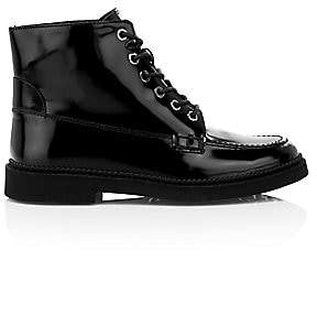 Tod's Women's Patent Leather Combat Boots
