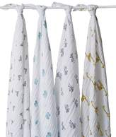 Aden + Anais Jungle Jam Swaddles - Pack of 4