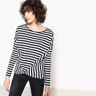 Kaporal Stripe Print Crew Neck T-Shirt