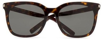 Saint Laurent Eyewear Tortoiseshell Sunglasses