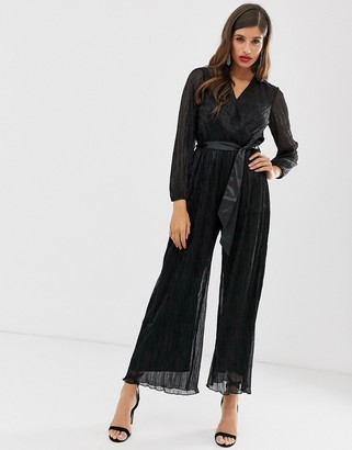 Closet London Closet puff sleeve jumpsuit