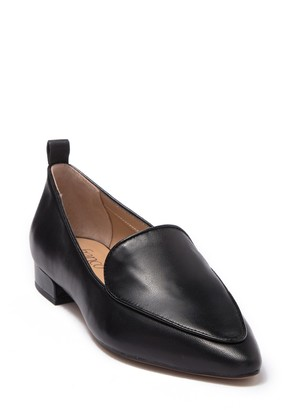 Franco Sarto Studio Pointed Toe Leather Loafer