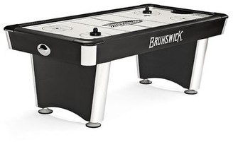 Brunswick Billiards 7' Air Hockey Table With Professional Installation Included