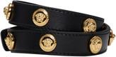 Versace Black Medusa Wrap Bracelet