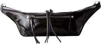 Rag & Bone Elliot Fanny Pack (Black Patent) Bags