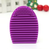 ArRord Multifuntional Cleaning Cosmetic Makeup Brush Tool Face Massage Tool Silicone Foundation Cleaner Finger Glove