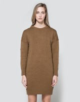 Nubby Crewneck Dress