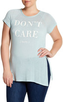 Hip Don't Care Screen Tee (Plus Size)