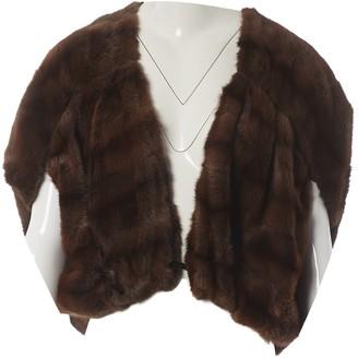 Lanvin Brown Fur Jacket for Women