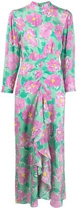Rixo Cherie Azalea floral-print dress