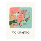 Rifle Paper Co. Rifle Paper Rio Poster - 28x35 cm