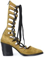 Toga Pulla gladiator boots - women - Leather - 39