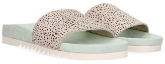 Maruti Footwear Berlin Flipflops Pixel In Mint - 38