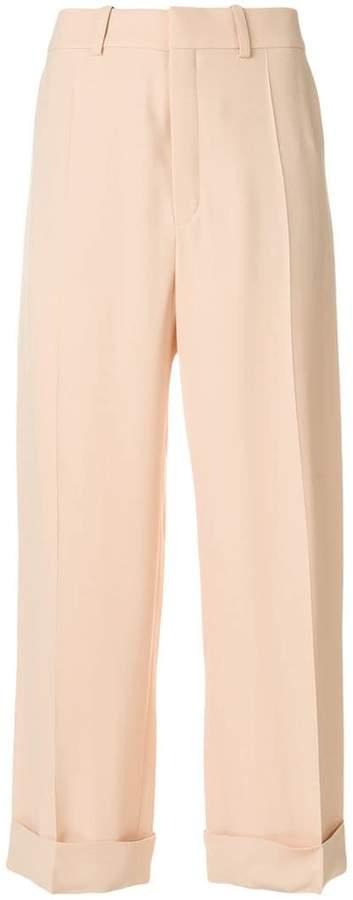 Chloé wide leg culotte trousers
