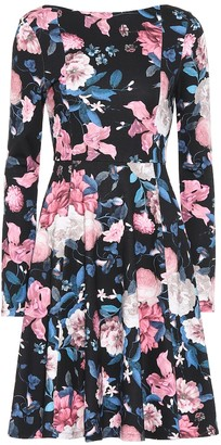Erdem Martina floral ponte jersey dress