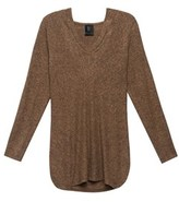 Bobeau Cozy Sweater Hoodie With Smooth V Neckline For Women.