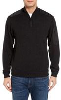 Vineyard Vines Men's Quarter Zip Performance Sweater