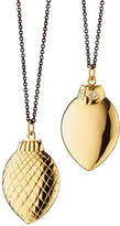 Monica Rich Kosann 18K Gold Owl Pendant Necklace, 32""