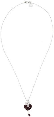 Stephen Webster Sword Ruby Heart Pendant Necklace