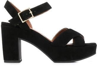 L'Autre Chose suede platform sandals