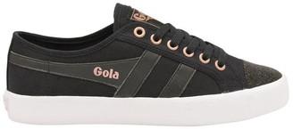 Gola Coaster Swarovski Canvas Shoes