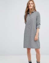 YMC Chambray Shirt Dress