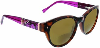 Vera Bradley Women's Lexi VBLEXI0RSM0SR150 Oval Reading Glasses