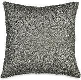 Donna Karan Exhale Metallic Beaded Square Pillow