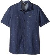 Volcom Interlude Short Sleeve Shirt Boy's Short Sleeve Button Up