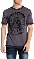 Affliction AC Hatched Short Sleeve Tee