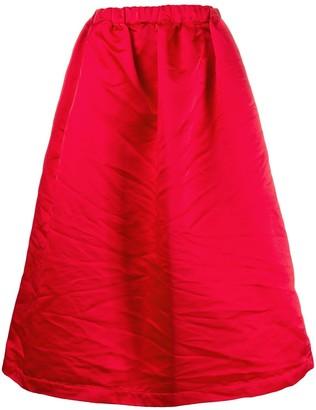 COMME DES GARÇONS GIRL A-line midi dress