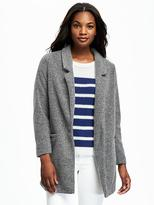 Old Navy Brushed Stand-Collar Coat for Women