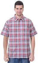 Dickies Big & Tall Plaid Button-Down Shirt