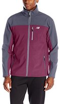 New Balance Men's Soft Shell Jacket Bonded to Fleece