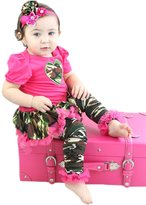 Petitebella Camouflage Heart Bodysuit Tutu Baby Dress Leg Warmer 3pc Set Nb-18m